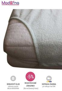 Little Angel - Chránič na matrac nepriepustný, 60x120cm