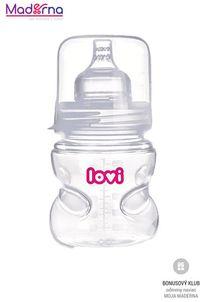 LOVI Samosterilizujúca fľaša 150 ml bez BPA super vent
