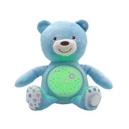 Medvedík s projektorom - modrá