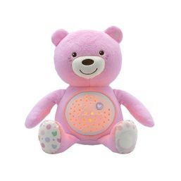 Medvedík s projektorom - ružová
