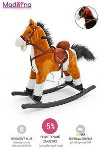 Milly Mally - Hojdací koník Mustang hnedý