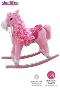 milly mally - hojdací koník princess pink