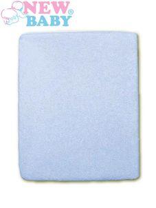 Nepremokavé prestieradlo New Baby 120x60 modré - Modrá