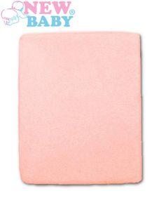 Nepremokavé prestieradlo New Baby 120x60 ružové - Ružová