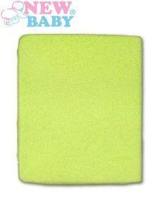 Nepremokavé prestieradlo New Baby 120x60 zelené - Zelená