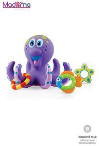 Nuby Chobotnica do vane s hračkami 18m+