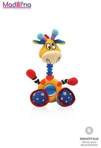 Nuby Hryzátko/hračka žirafa George 6m+