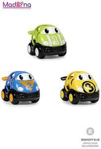 Oball Hračka autíčka pretekárske Herbie, Tom a Mike Go Grippers™ 3ks, 18m+