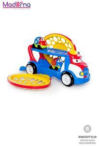 Oball Hračka ťahač Grumpy + 2 autíčka Dave a Danny Oball Go Grippers™ 18m+
