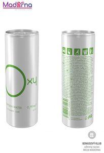 Oxy water kyslíková voda 250 ml limetka + uhorka