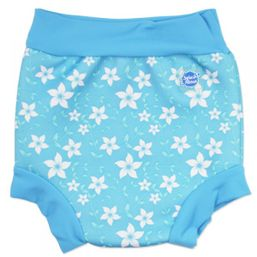 Plavky Happy Nappy Modré kvietky Splash about