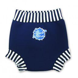 Plavky Happy Nappy Modro biele Splash about