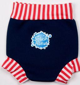 Plavky Happy Nappy Modro-Bielo-Červené Splash about