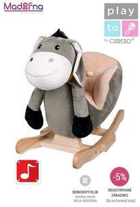 PlayTo - Hojdacia hračka oslík