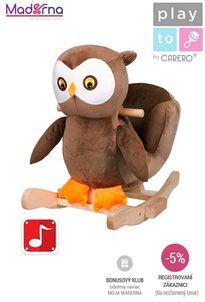 PlayTo - Hojdacia hračka sova