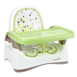 BABYMOOV Plastová prenosná stolička Compact Seat GREEN NEW