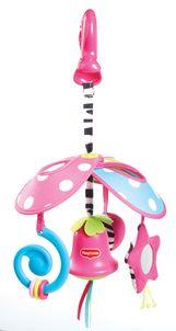 Prenosný kolotoč so zvončekom Malá Princezná Tiny Love