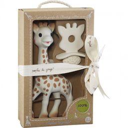 VULLI - Set žirafka Sophie Vulli + hryzátko So Pute