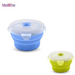 Skladacia silikónová nádoba na potraviny 230 ml Nuvita