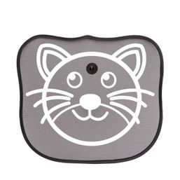 Slnečná clona do auta mačka