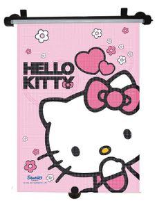 Slnečná roleta do auta Disney Hello Kitty - Ružová
