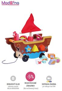 sun baby - Drevená loďka - triedenie A* 24m+