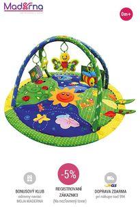 sun baby - hracia deka Krásna záhradka