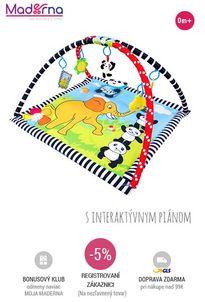Sun baby - hracia deka Panda