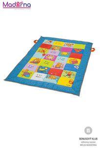 Taf Toys veľká deka s aktivitami I love