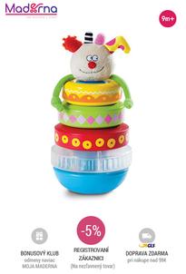 taf toys - vkladačka KOOKY STACKER