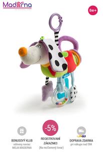 TAF TOYS - závesná hračka Ušatý psík