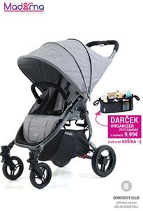 Valco Baby SNAP 4 Tailor Made 2017 Grey Marle