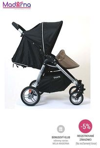 VALCO - Nánožník kojenecký pre Snap Duo - hnedý