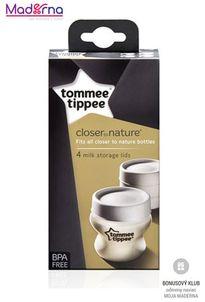 Tommee Tippee viečka na fľaše CTN 4ks