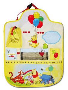 Vreckár do auta Disney Winnie The Pooh - Žltá