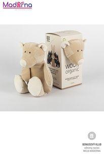 Wooly organic malý Teddy 100% biobavlna