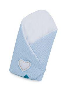 Zavinovačka Belisima Tri srdcia - Modrá