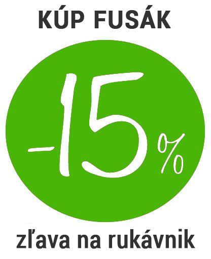 -15% na rukávnik pri kúpe fusaka
