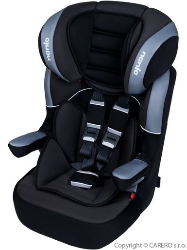 Autosedačka Nania Myla Isofix Premium black - Čierna
