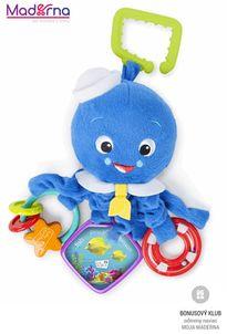 Baby einstein Hračka na C-krúžku aktívna Octopus™ 0m+