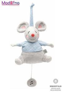 Bébé-Jou Musicbox plyšák Little Mice