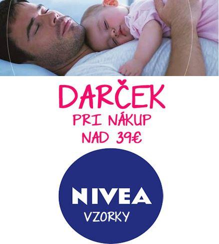DARČEK pri nákupe nad 39€ NIVEA vzorky