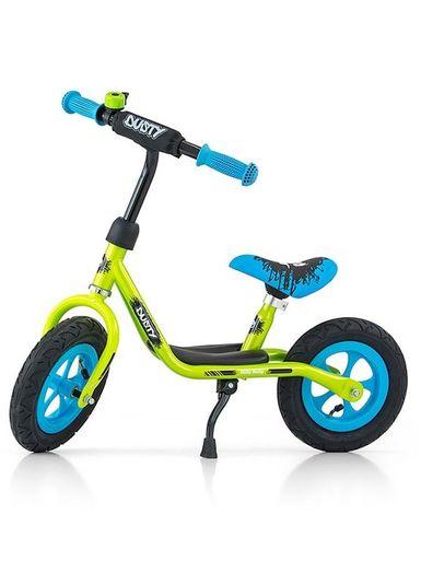 """Detské odrážadlo bicykel Milly Mally Dusty green 12"""" - Zelená"""