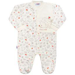 5c364f0782d59 Dojčenský bavlnený overal New Baby Hedgehog béžový - Béžová