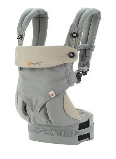 ERGOBABY Nosič dieťaťa Four Position 360 Baby Carrier Grey
