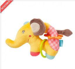 Fehn hrkálka krúžok slon BabyFehn