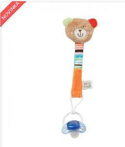 Hračka na cumlík, medvedík BabyFehn