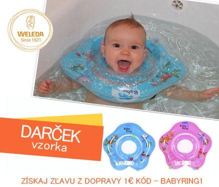 UNIKÁTNE Plávacie koleso pre bábätka 3-36m, 6-36kg Baby Ring
