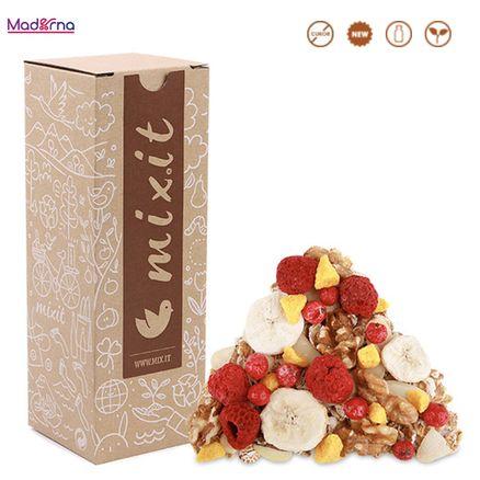 MIXIT Materský Mix Müsli so sušeným ovocím a orechmi