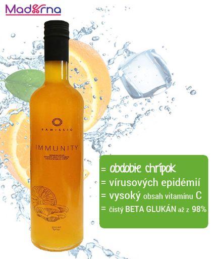 Ramissio Immunity drink 500 ml - 100% prevencia pre chrípkou